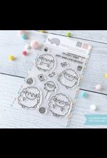 Mama elephant ME Stamp: Zodiac Sheep