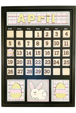 Foundations Decor FD April Monthly Calendar Kit