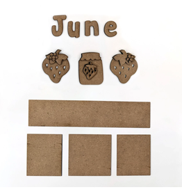 Foundations Decor FD June Monthly Calendar Kit
