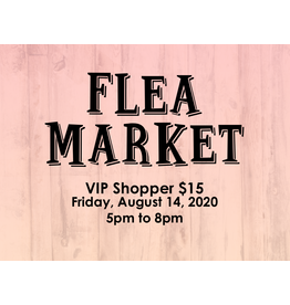 Creative Escape Flea Market VIP Shopper
