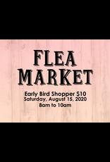 Creative Escape Flea Market Early Bird Shopper