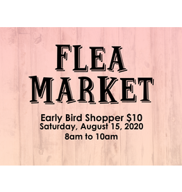 Creative Escape Flea Market Early Bird Shopper