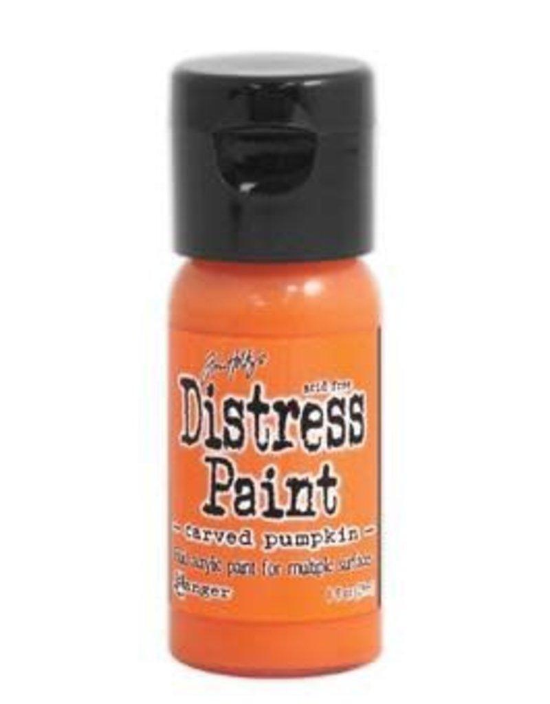 RANGER Distress Paint Carved Pumpkin