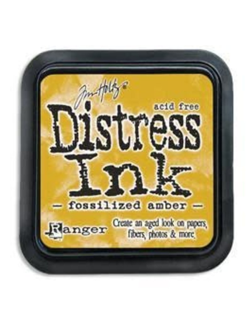 RANGER Distress Ink Fossilized Amber