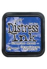 RANGER Distress Ink Blueprint Sketch
