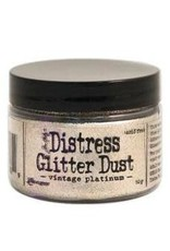 RANGER Distress Glitter Dust TH Vintage Platinum