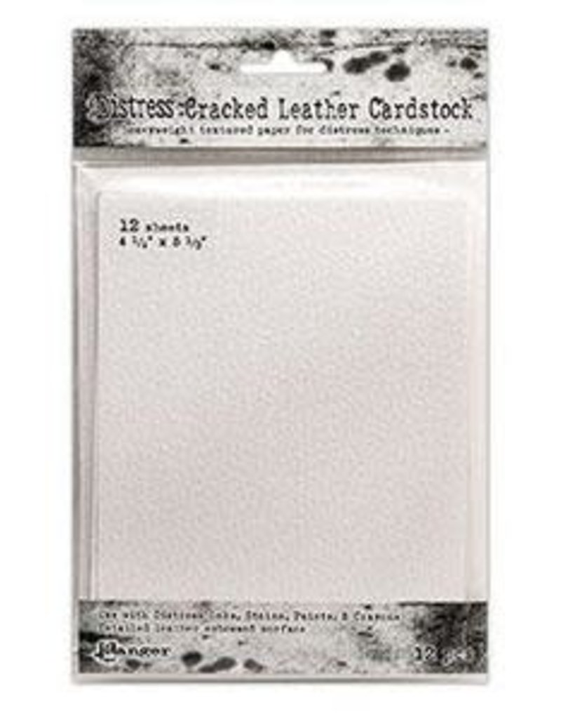 RANGER Ranger Distress Cracked Leather Cardstock Card Size