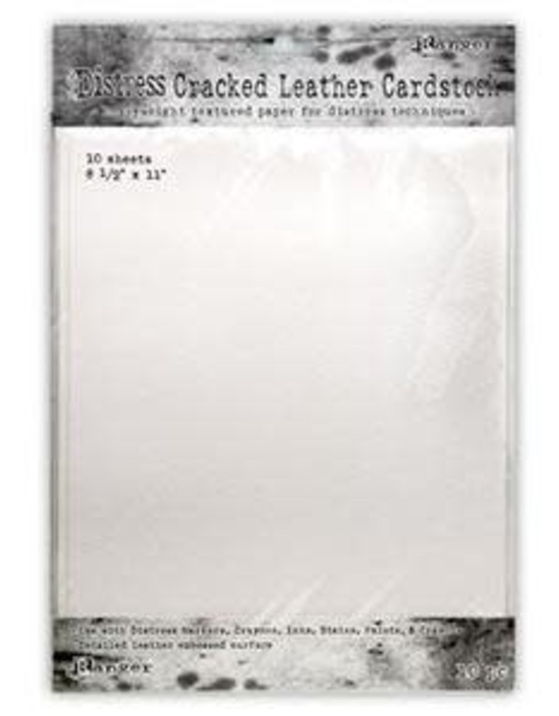 RANGER Ranger Distress Cracked Leather Cardstock Letter Size