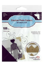 3L 3L Photo Corners Kraft