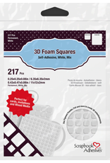 notions 3L 3D Foam Squares 217 pieces Variety