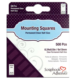 3L 3L Mounting Squares Clear 500