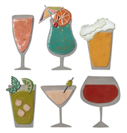 sizzix Sizzix TH Thinlits Die: Happy Hour