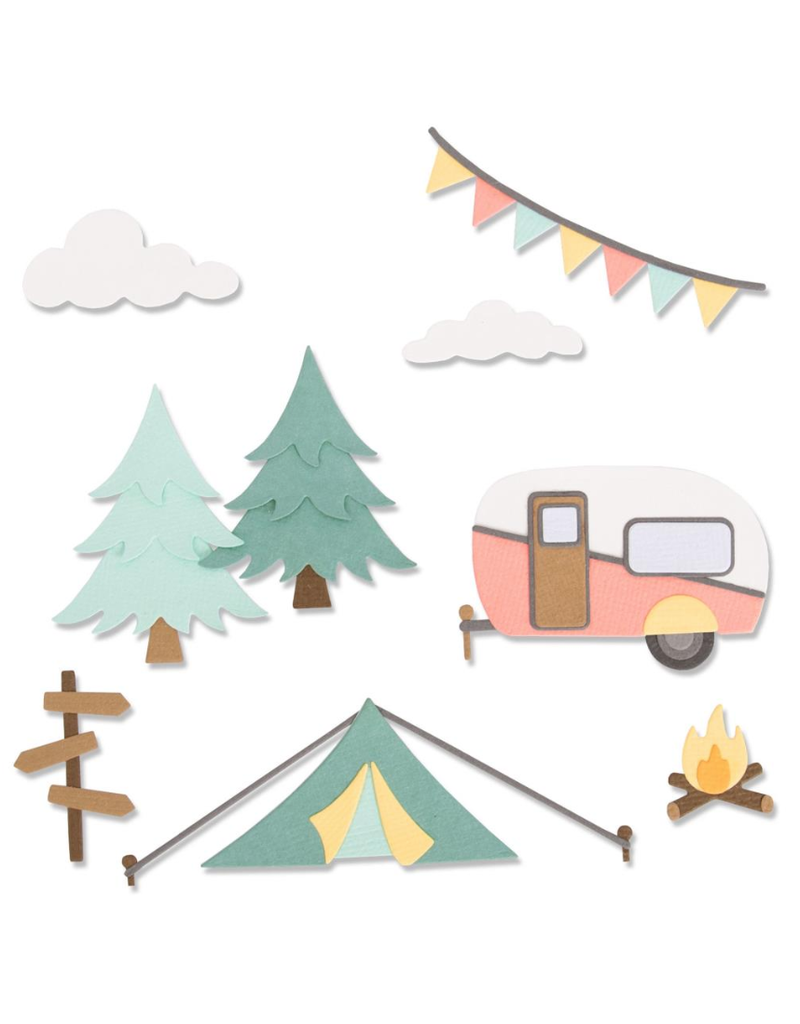 sizzix Sizzix Thinlits Die: Great Outdoors