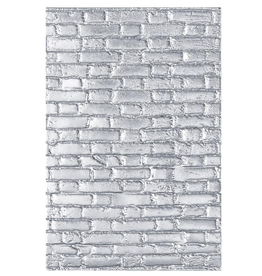 sizzix Sizzix TH Brickwork : 3-D Texture Fades Embossing Folder