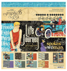 GRAPHIC 45 Graphic 45 Collection Kit Life is a Journey