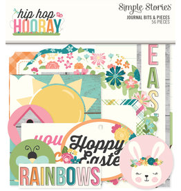 simple stories SS Journal Bits & Pieces Hip Hop Hooray