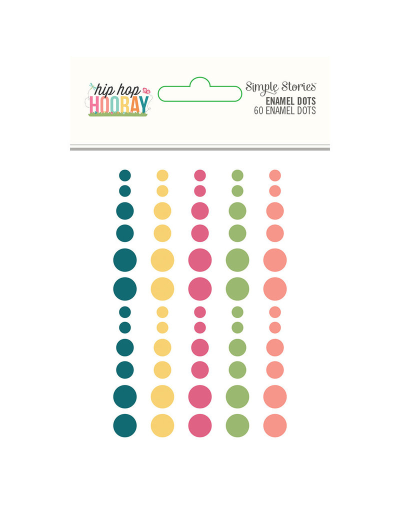 simple stories SS Enamel Dots Hip Hop Hooray