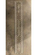 "Scrapbook n Memories Creative Escape Acrylic Ruler 12"""