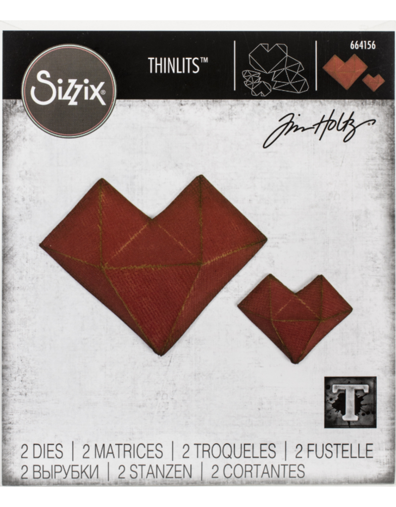 sizzix Sizzix TH Die Faceted Heart