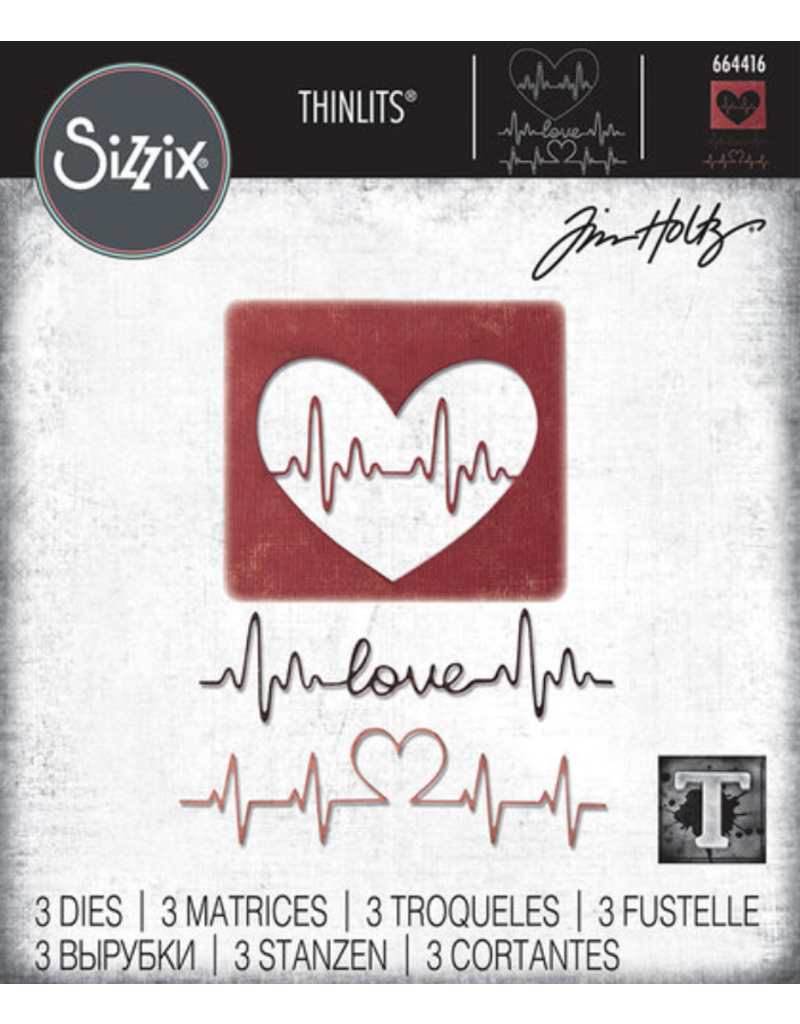 sizzix Sizzix TH Die Heartbeat
