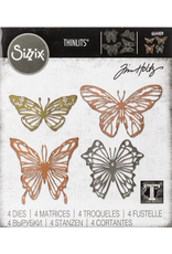 sizzix Sizzix TH Die Scribbly Butterflies