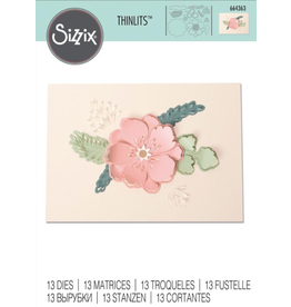 sizzix Sizzix Thinlit Peony Pop-up