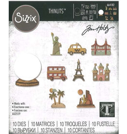 sizzix Sizzix TH Thinlit Tiny Travel G