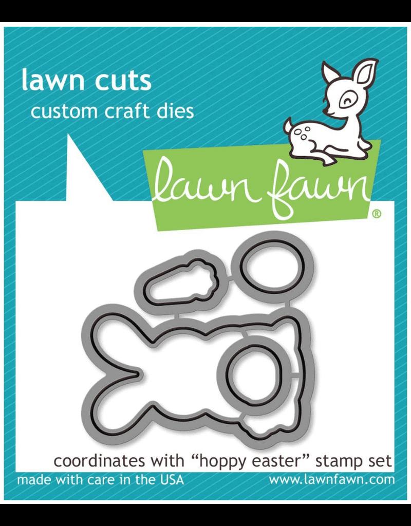 lawn fawn LF Die Hoppy Easter