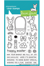 lawn fawn LF Stamp Eggstra Amazing Easter