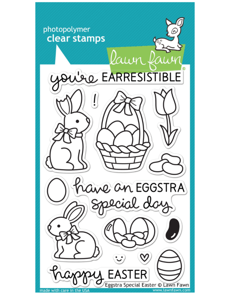 lawn fawn LF Stamp Eggstra Special Easter