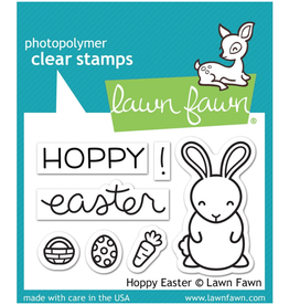 lawn fawn LF Stamp Hoppy Easter