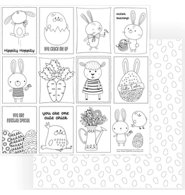 Photoplay PP Paper Easter Wishes:  Color Me Easter Wishes