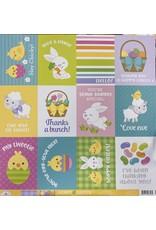 DOODLEBUG DoodleBug Paper Happy Easter :Sunday Dress