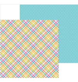 DOODLEBUG DoodleBug Paper Happy Easter: Jellybean Plaid