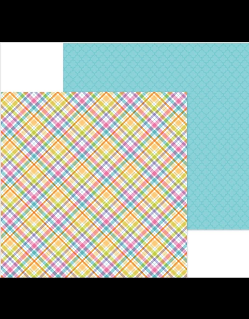 DOODLEBUG DoodleBug Paper Happy Easter: Jellybean Plaid