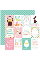 Echo Park Ep Paper Hello Easter: 3X4 Journaling Cards