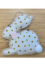 Fabric Bunny: Yellow