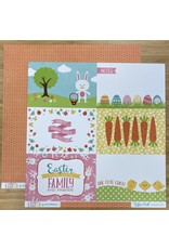 Echo Park Ep Paper Celebrate Easter: 4X6 Journal Card