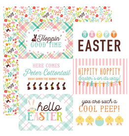 Echo Park Ep Paper Hello Easter: 4X6 Journaling Cards