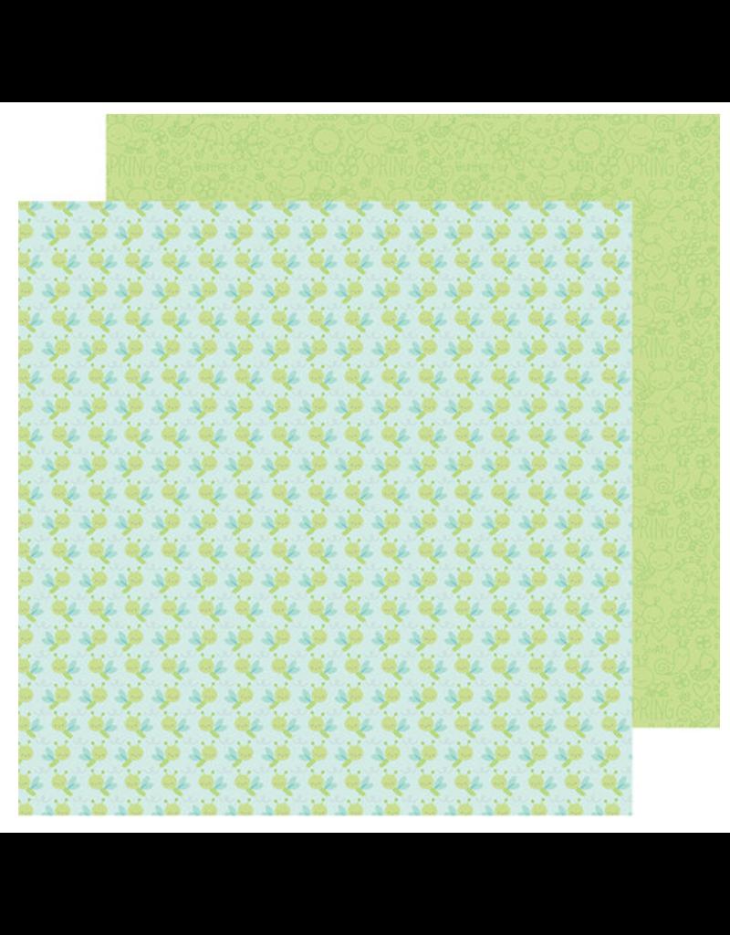 DOODLEBUG DoodleBug Paper Spring Things: Dragonfly Sky