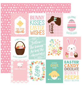 Echo Park Ep Paper Easter Wishes: 3X4 Journal Card