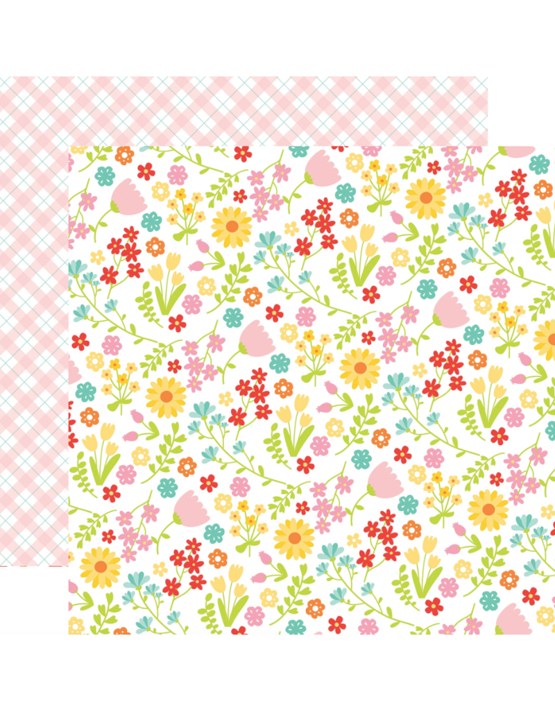 Echo Park Ep Paper Easter Wishes: Floral Fun