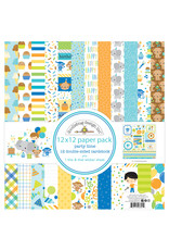 DOODLEBUG Doodlebug party time 12x12 paper pack