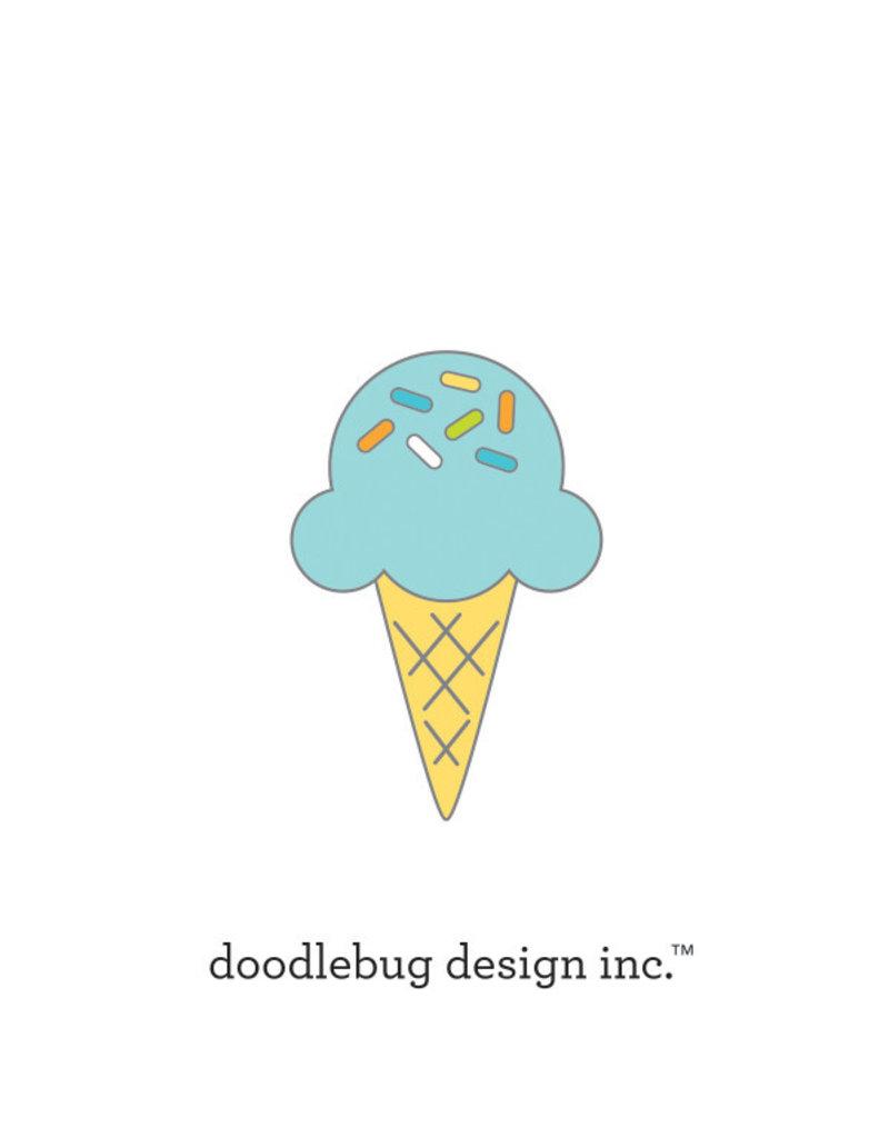 DOODLEBUG Doodlebug party time sugar cone collectible pins
