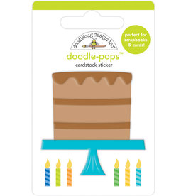 Doodlebug party time chocolate cake doodle-pops