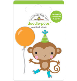 Doodlebug party time monkey business doodle-pops