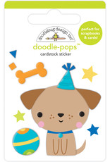 DOODLEBUG Doodlebug party time yappy birthday doodle-pops