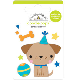 DOODLEBUG Doodlebug party time yappy birthday doodle-pops
