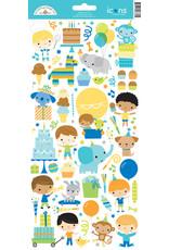 DOODLEBUG Doodlebug party time icons sticker