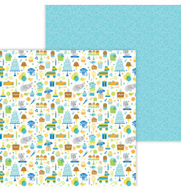 DOODLEBUG Doodlebug party time double-sided cardstock